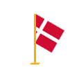 Korrekturlæsning på dansk flag